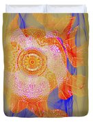 Carnival Abstract 1 Duvet Cover
