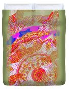 Carnival Abstract 2 Duvet Cover