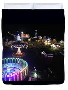 Carnival From The Sky Duvet Cover
