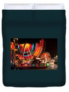 Carnival In Motion Duvet Cover