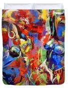 Carnival- Large Work Duvet Cover