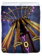 Carnival Ride Duvet Cover