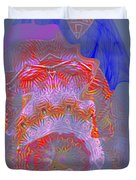 Carnival Abstract 3 Duvet Cover