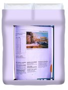 Carole Spandau Listed In Magazin'art Biennial Guide To Canadian Artists In Galleries 2002-2003 Edit Duvet Cover