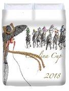 Carolina Cup  Duvet Cover