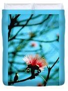 Carolina Flower And Bird Duvet Cover