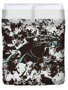 Carolina Panthers 1b Duvet Cover