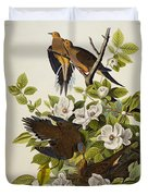 Carolina Turtledove Duvet Cover by John James Audubon