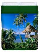 Caroline Islands, Pohnpei Duvet Cover