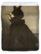 Carolus Duran Lady With A Glove Duvet Cover