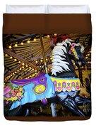 Carousel Horse 1 Duvet Cover