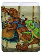 Carousel Kids 3 Duvet Cover