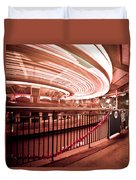 Carousel Lights #2 Duvet Cover