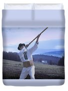 Carpathian Highlander Duvet Cover