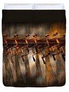 Carpenter  - Saws And Braces  Duvet Cover