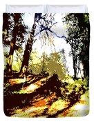 Carpet Of Autumn Leaves Duvet Cover by Patrick J Murphy