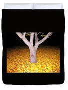 Carpet Of Leaves Duvet Cover