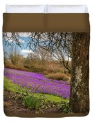 Carpet Of Purple Crocus Duvet Cover