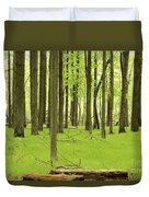 Carpeted Forest Duvet Cover
