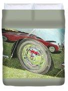 Carrera Chrome Duvet Cover