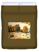 Carriage Path Duvet Cover