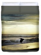 Carribean Sunrise Duvet Cover