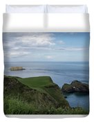 Carrick Island From Portaneevey Duvet Cover
