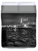 Carrickfergus Castle 7 Duvet Cover
