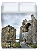 Carrigafoyle Castle - Ireland Duvet Cover