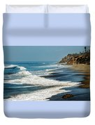 Carrillo Beach Duvet Cover