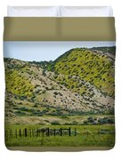 Carrizo Plain Daisy Hills Duvet Cover