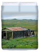 Carrizo Plain Ranch Duvet Cover