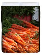 Carrot Bounty Duvet Cover