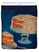 Carrot Cake Duvet Cover