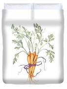 Carrot Harvest Duvet Cover