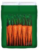 Carrots Duvet Cover