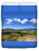 Carson Valley Panorama Duvet Cover