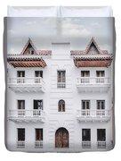 Cartagena De Indias Duvet Cover