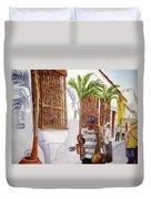 Cartagena Peddler I Duvet Cover