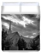 Carter Chapel Bridgewater College Va - Bw 1 Duvet Cover