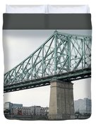 Cartier Bridge Day Duvet Cover