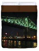 Cartier Bridge Night Duvet Cover