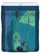 Cartoon Altar Of The Exotic #1 Duvet Cover