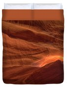 Carved By Nature Duvet Cover