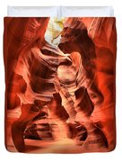 Carved Canyon Wals Duvet Cover