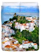 Casares From Laura's View Duvet Cover