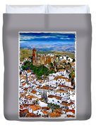 Casares From Signal Hill Duvet Cover