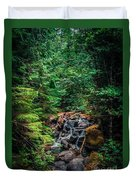 Cascade Creek Duvet Cover