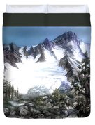 Cascade Splendor  Mount Fury Duvet Cover