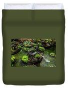 Cascades Fountains Duvet Cover
